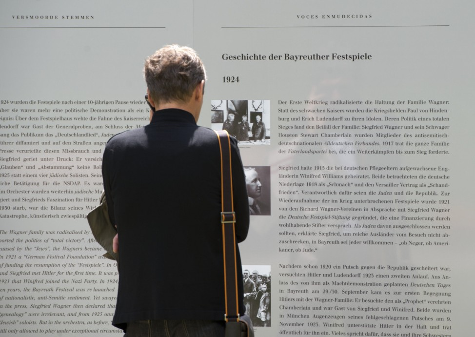 Ausstellung 'Verstummte Stimmen: Die Bayreuther Festspiele und die Juden 1876 bis 1945'