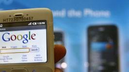 Google, Smartphones, Online-Werbung, afp