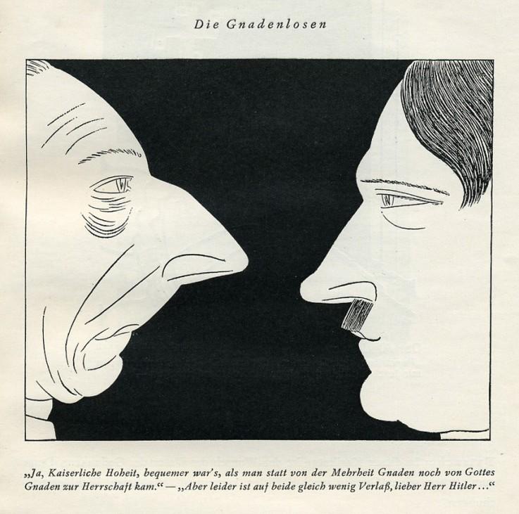 """""""Hitler-  In der Karrikatur der Welt (vom Führer genemigt)"""""""