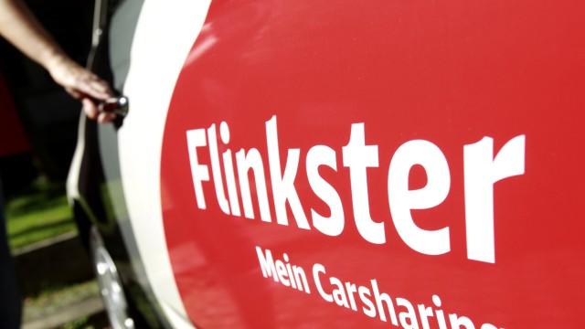 Flinkster Carsharing Deutsche Bahn München