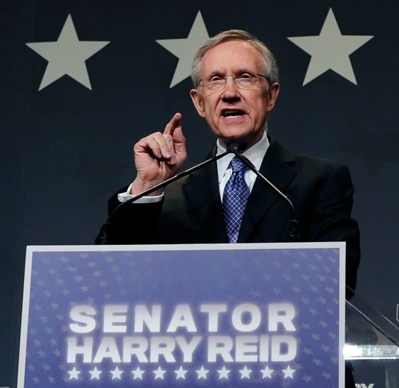 Harry Reid And Nevada Democrats Hold Election Night Event