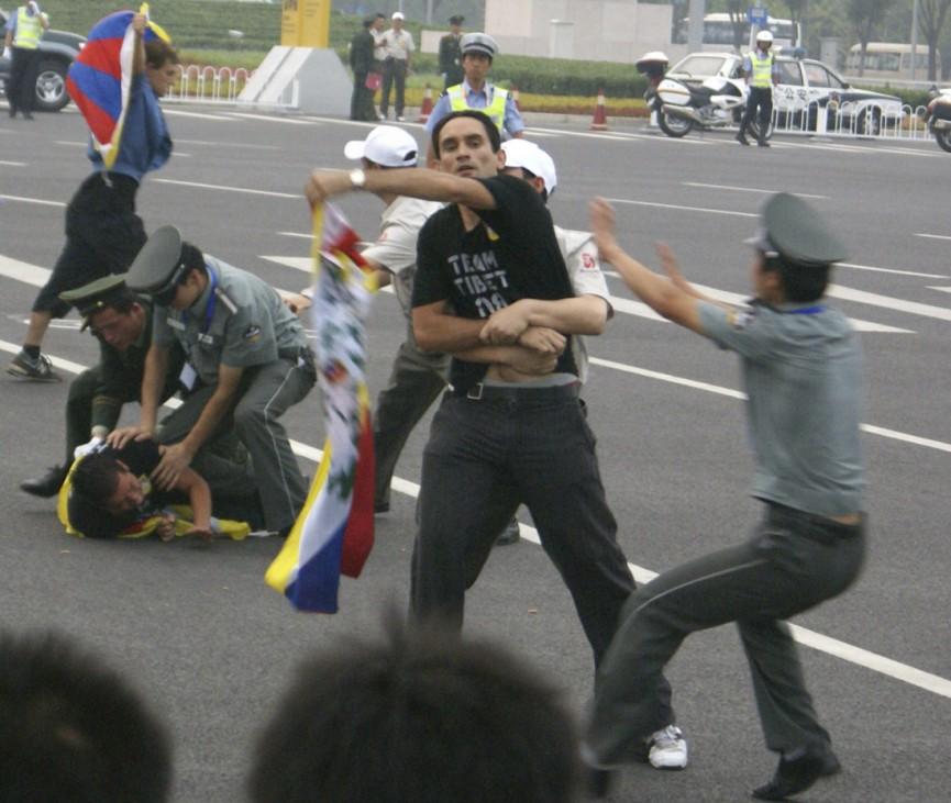 Proteste von Tibetern in China, 2008