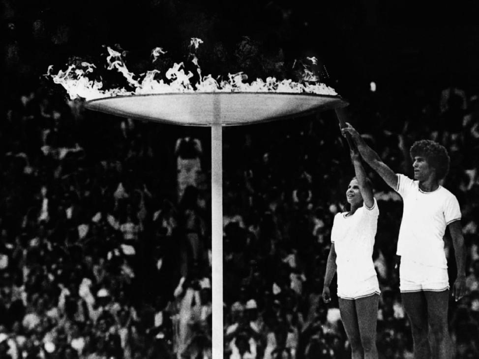 Olympisches Feuer entfachte auch Herzen