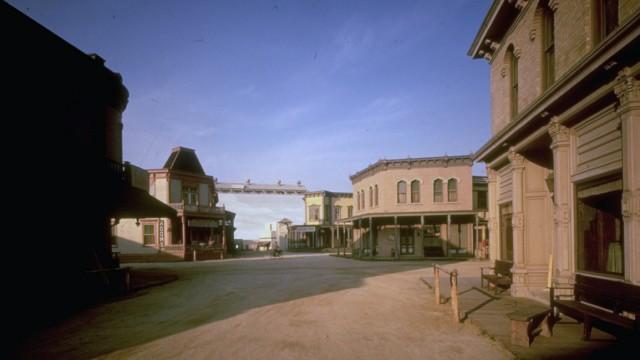 Western set, where such films as Gunfigh