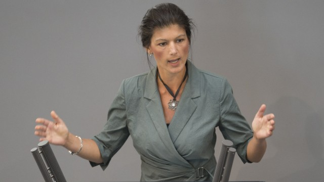 Sahra Wagenknecht Interview