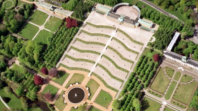 Schloss und Park Sanssouci Potsdam Berlin