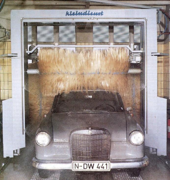 Die Evolution der Bürste - Die Waschanlage feiert 50. Geburtstag