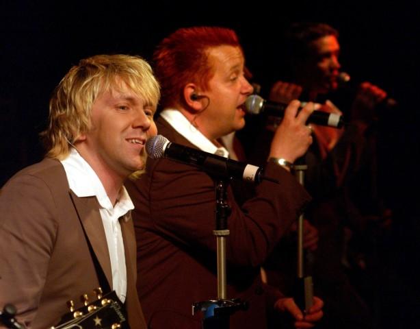 """Tourneestart der Deutsche Popgruppe """"Die Prinzen"""" in Erfurt, 2003"""