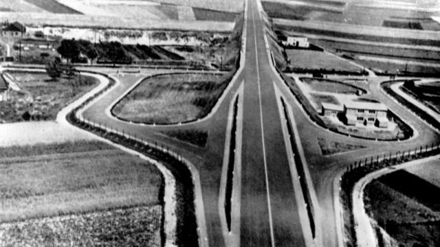 Erste Autobahn Köln-Bonn