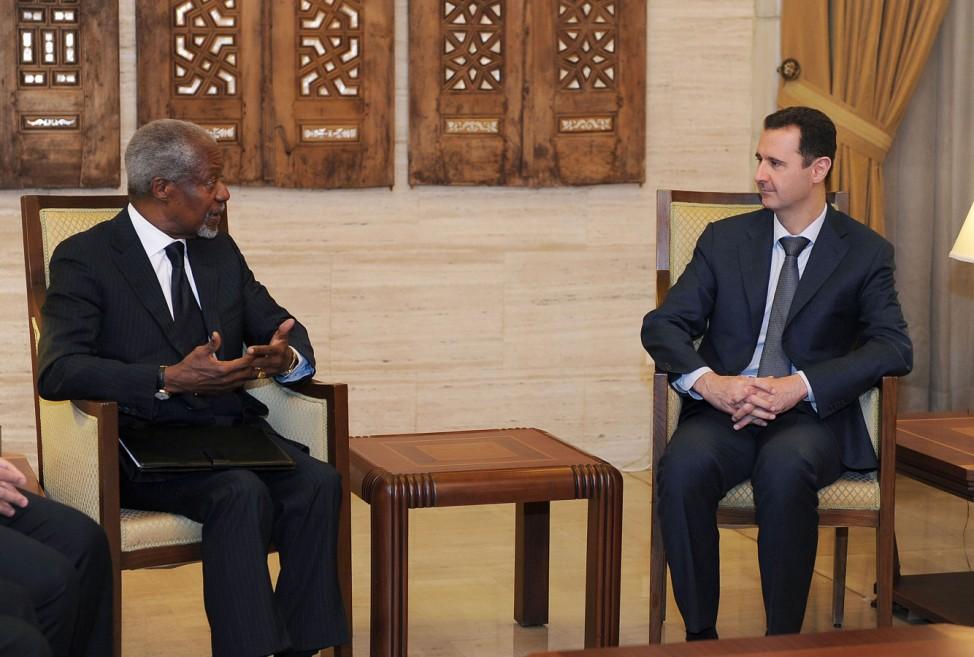 Kofi Annan, Bashar Assad