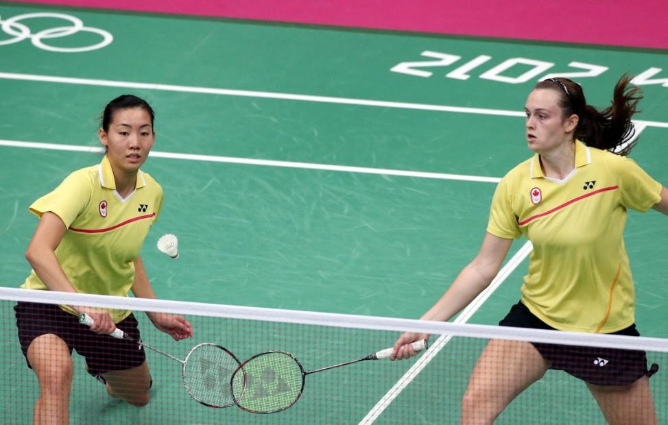 London 2012 - Badminton