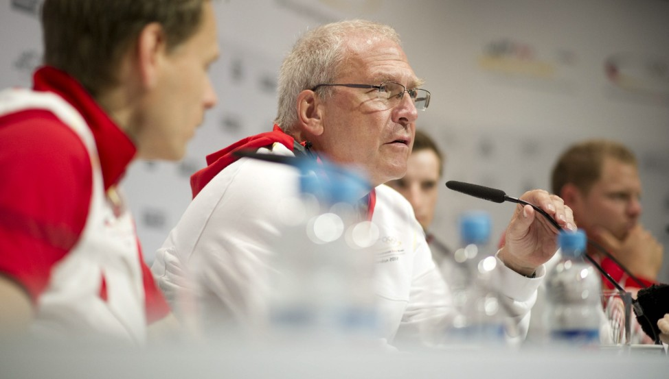 Olympia 2012: Pressekonferenz DOSB Drygalla Vesper