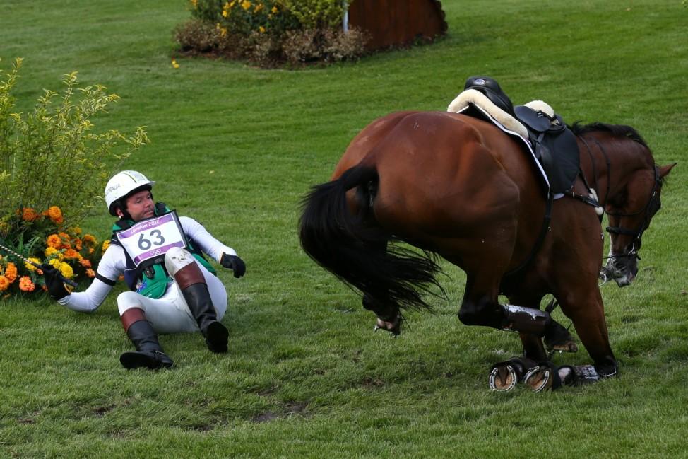 ***BESTPIX***  Olympics Day 3 - Equestrian