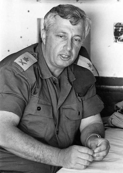 Generalmajor Ariel Sharon, 1967