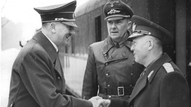 Hitler, Schmidt, Antonescu, 1942