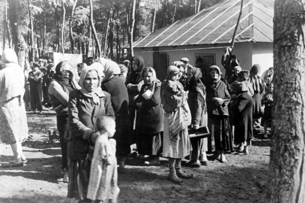 Jüdische Familien im Konzentrationslager Scherl / SZ Photo