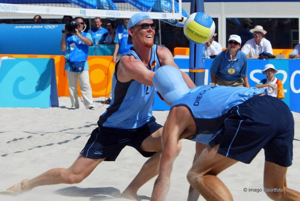 Reckermann2004 Athen Beachvolleyball