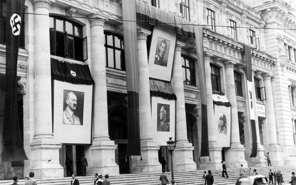 Kriegsministerium in Bukarest 1941 Scherl / SZ Photo