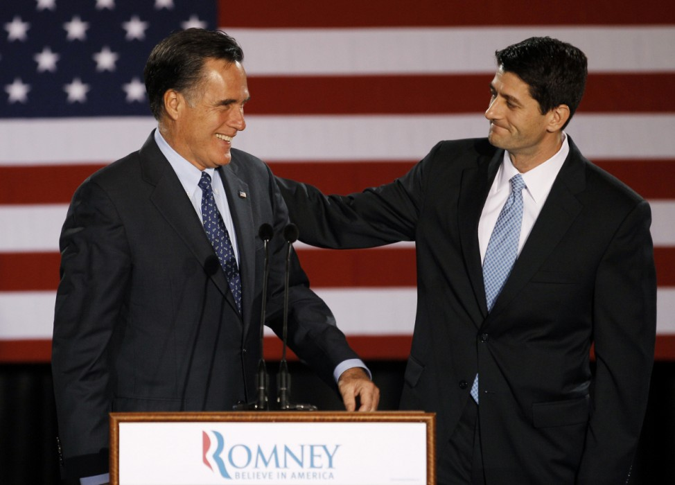 Mitt Romney, Paul Ryan USA Republikaner