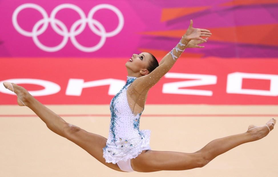 London 2012 - Turnen Rhytmische Sportgymnastik