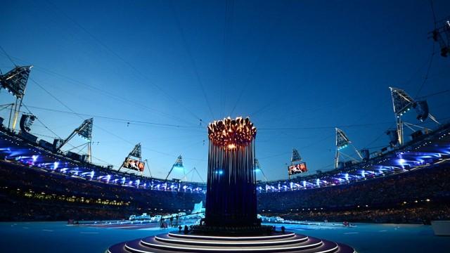 Olympische Spiele 2012 In Grossbritannien London Hat Geleuchtet Sport Sz De