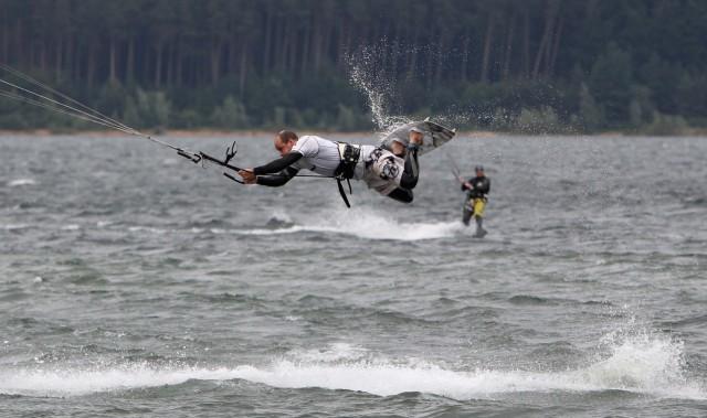 Kitesurfen am Brombachsee