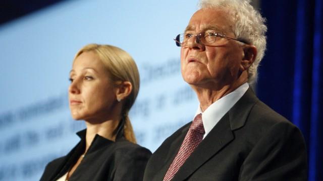 Erfolgreicher Ausflug der Tochter in die Politik: Belinda Stronach und Vater Frank Stronach 2009