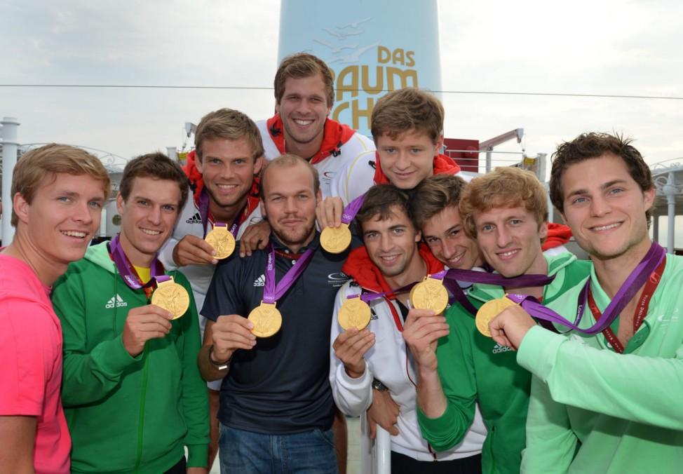 Olympia London 2012 - Rückreise der Olympiamannschaft