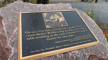 Obama Gedenkstein Chicago