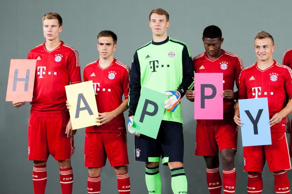 Bayern Muenchen Team Presentation
