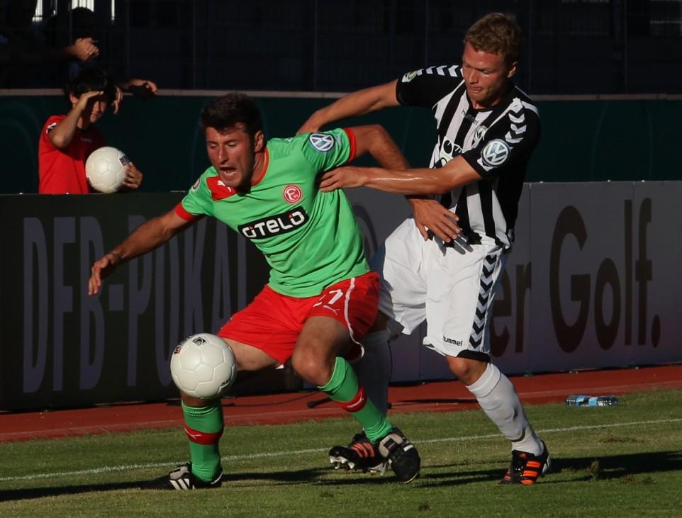 Wacker Burghausen v Fortuna Duesseldorf - DFB Cup