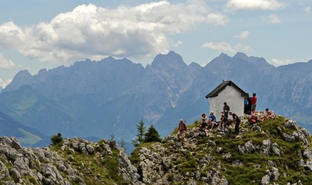 Der Brünnstein in Oberbayern