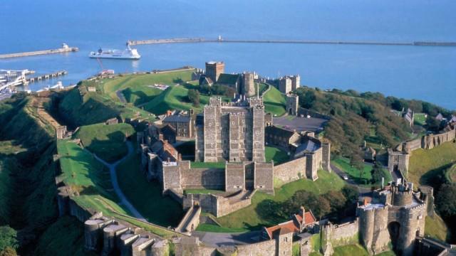 Dover Castle: Englands unbesiegbare Festung am Ärmelkanal
