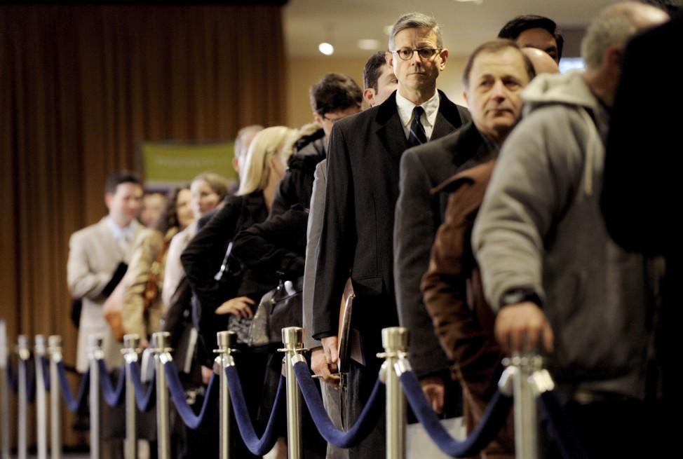 Ein Jahr vor der Wahl - hohe Arbeitslosigkeit Topthema