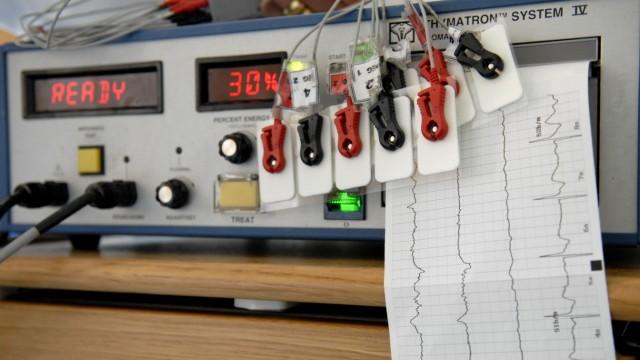 Elektrokrampftherapie an der Psychiatrischen Uniklinik in München, 2006