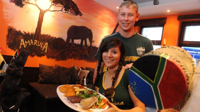 Restaurant Savanna: Savanna-Inhaber und Südafrika-Liebhaber Carina Ambach-Cronje und Johann Cronje.