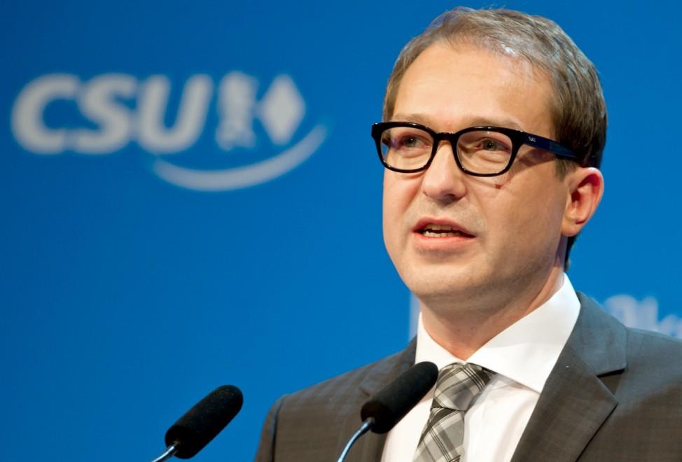 Alexander Dobrindt, EU-Beitritt Türkei, CSU