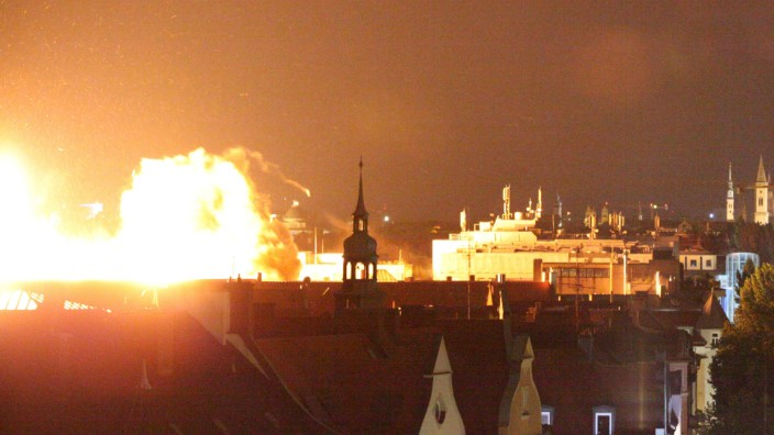 Münchner Fliegerbombe nach erfolgloser Entschärfung gesprengt