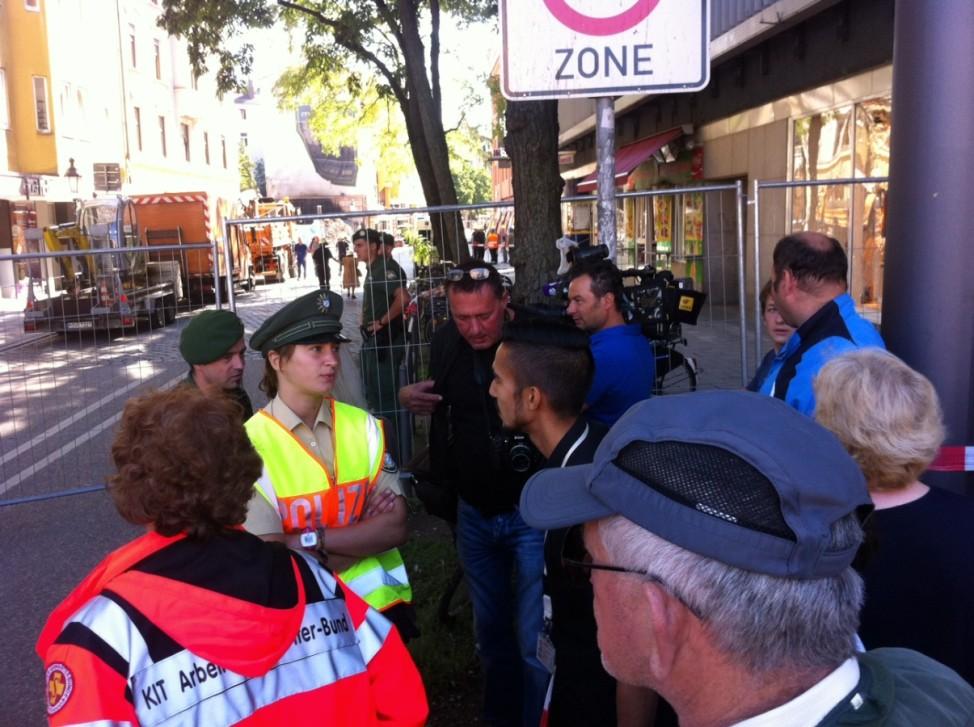 Bombenalarm in Schwabing