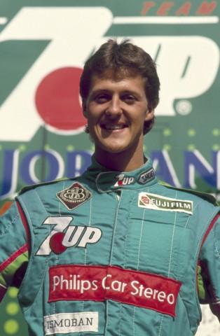 Michael Schumacher 1991 erstes Rennen