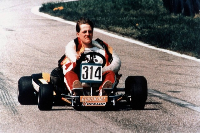 Michael Schumacher Kart