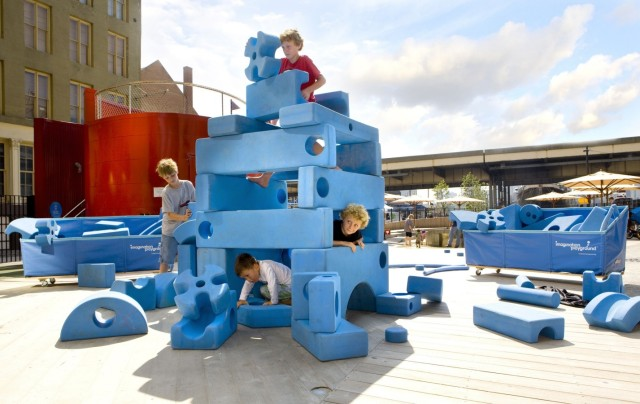 Imagination Playground by the Rockwell Group. Photo by Chris Amaral, courtesy of the Rockwell Group