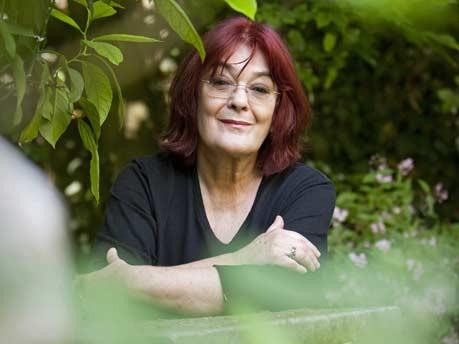 Eva Demski; Garten; dpa