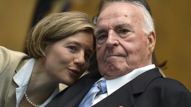 Helmut Kohl (CDU) und seine Frau Maike Kohl-Richter im August 2012