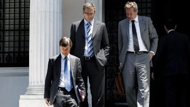 Eurokrise: Troika in Athen