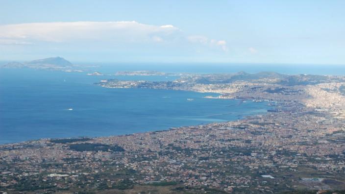Vesuv Pompeji Capri Neapel Golf von Neapel Italien