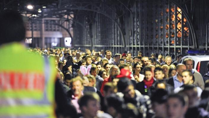 Hackerbrücke Oktoberfest Verkehr