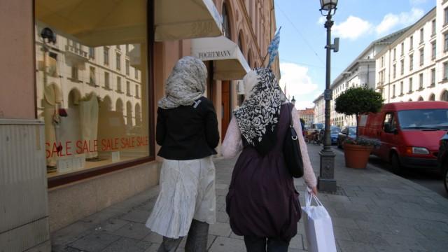 Araberinnen in München, 2007