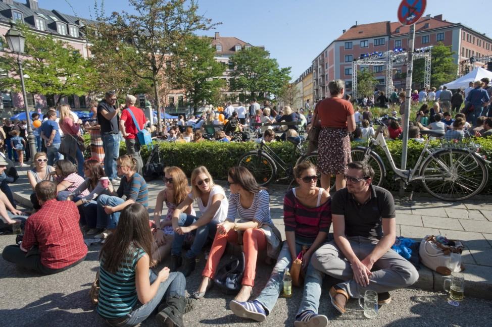 München, Glockenbachviertel, Gärtnerplatzfest