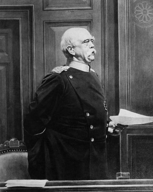 Otto von Bismarck im Reichstag